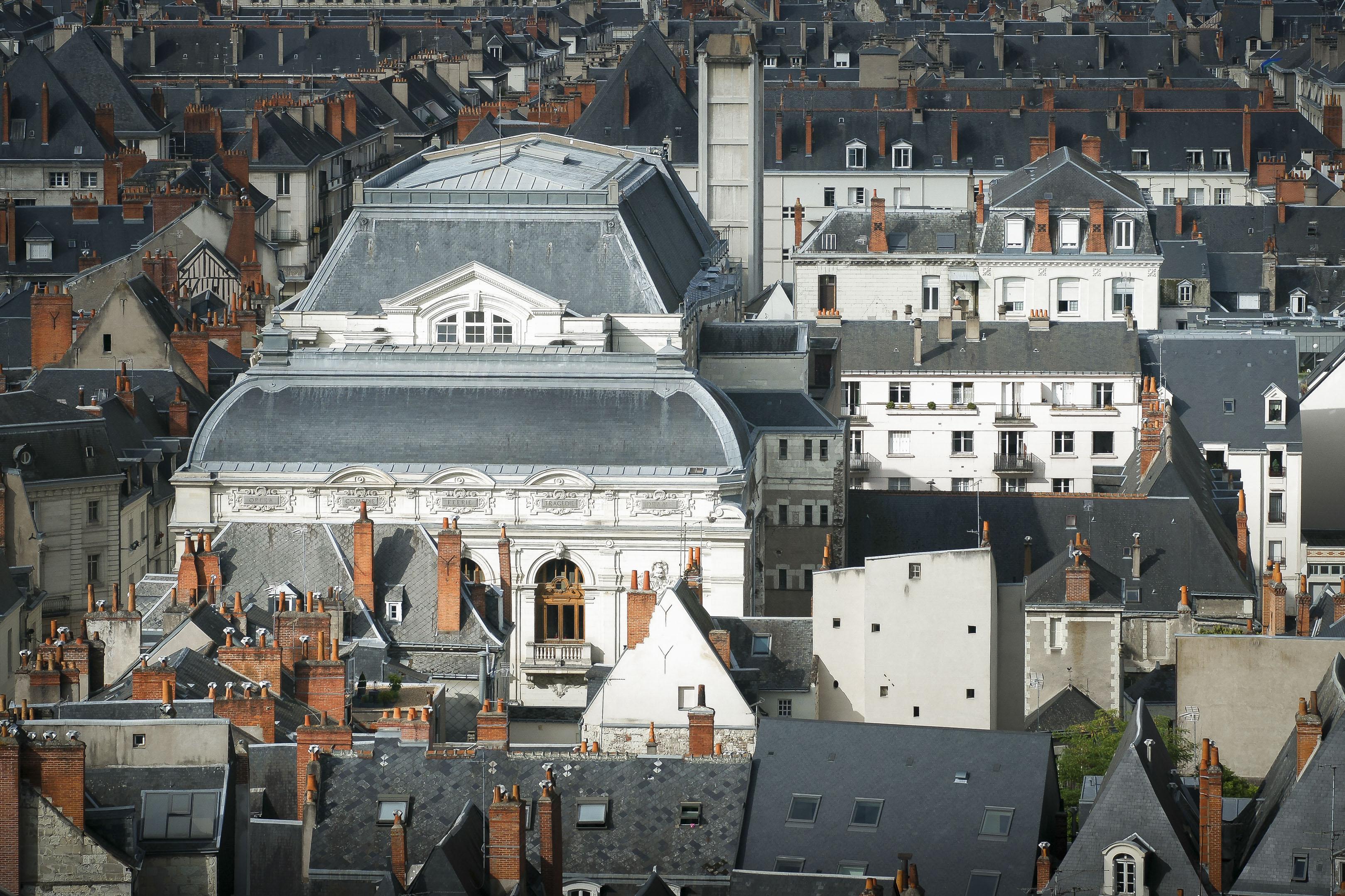 Opéra depuis la cathédrale Saint-Gatien - Septembre 2014