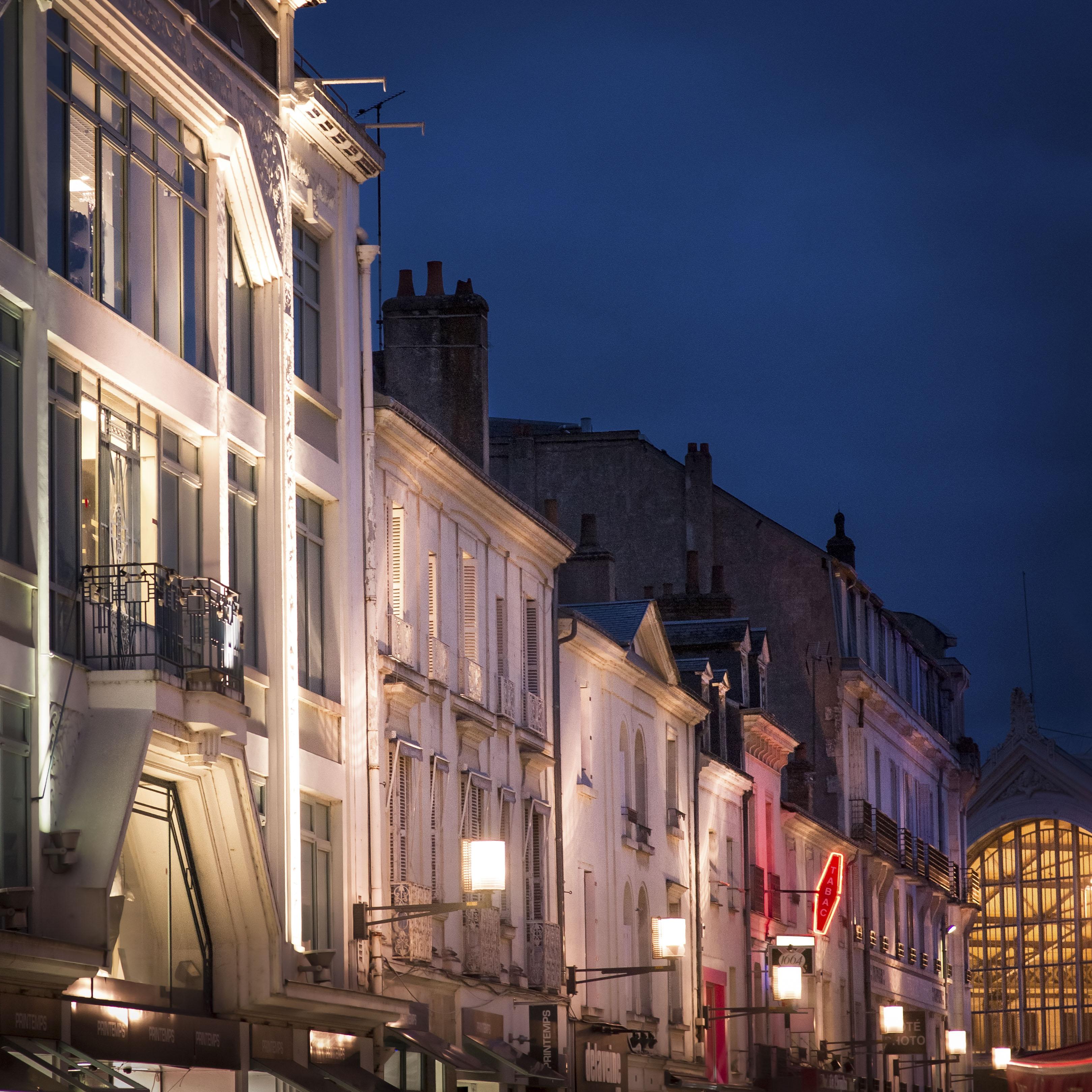 Rue de Bordeaux, vers la gare - Mars 2015