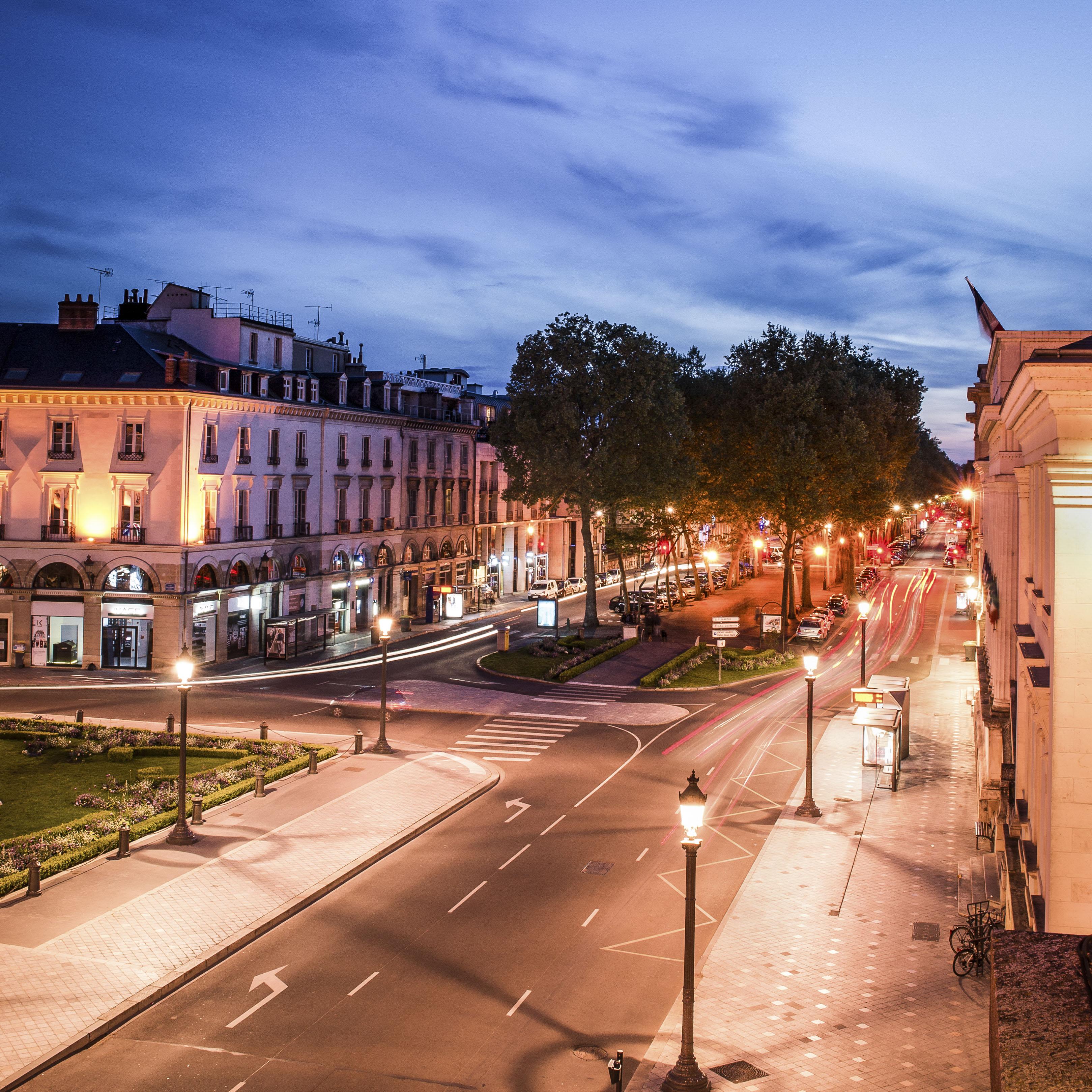 Place Jean Jaurès et boulevard Béranger - Avril 2015