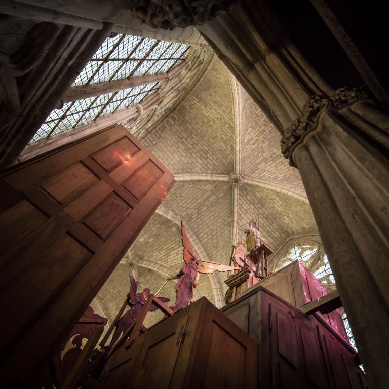 Cathédrale Saint-Gatien, l'orgue - Décembre 2016