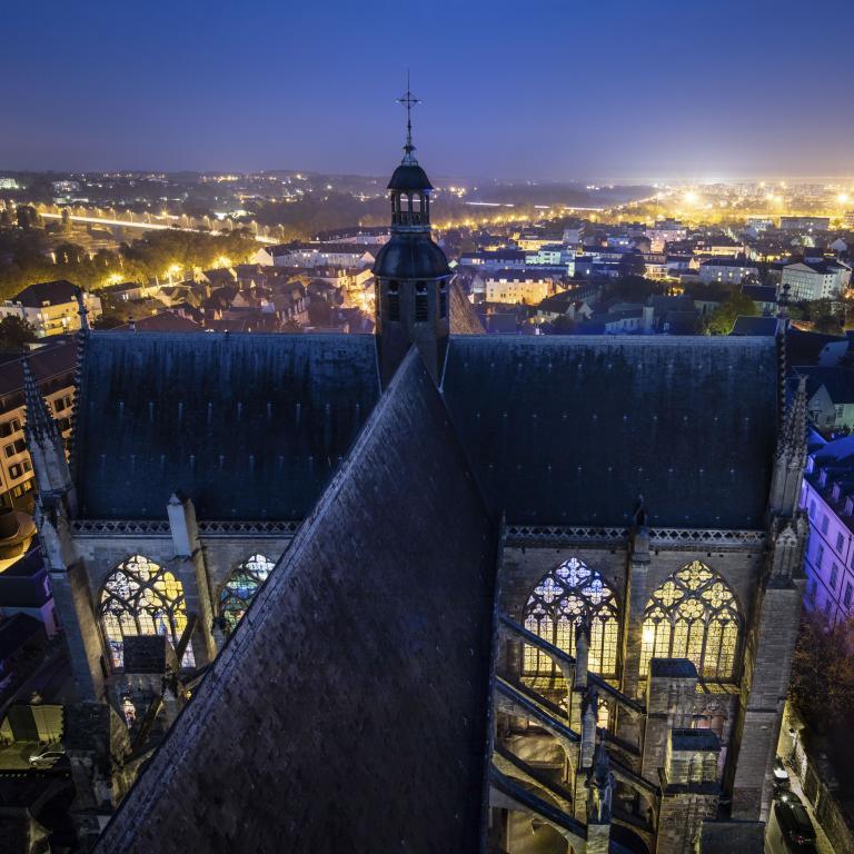 Cathédrale Saint-Gatien, depuis la tour sud - Octobre 2016