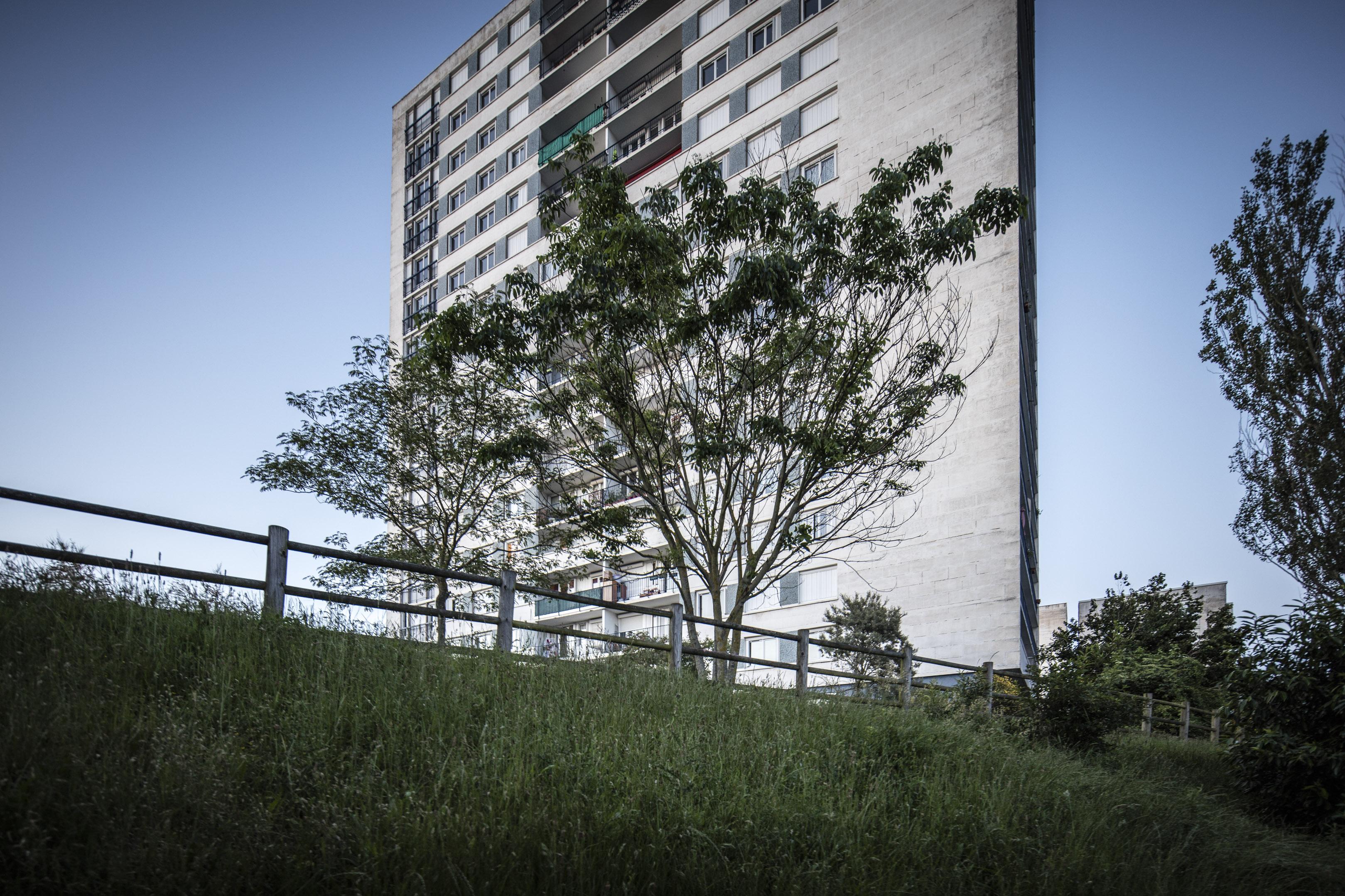 Quartier des rives du Cher, immeuble  - Juin 2016