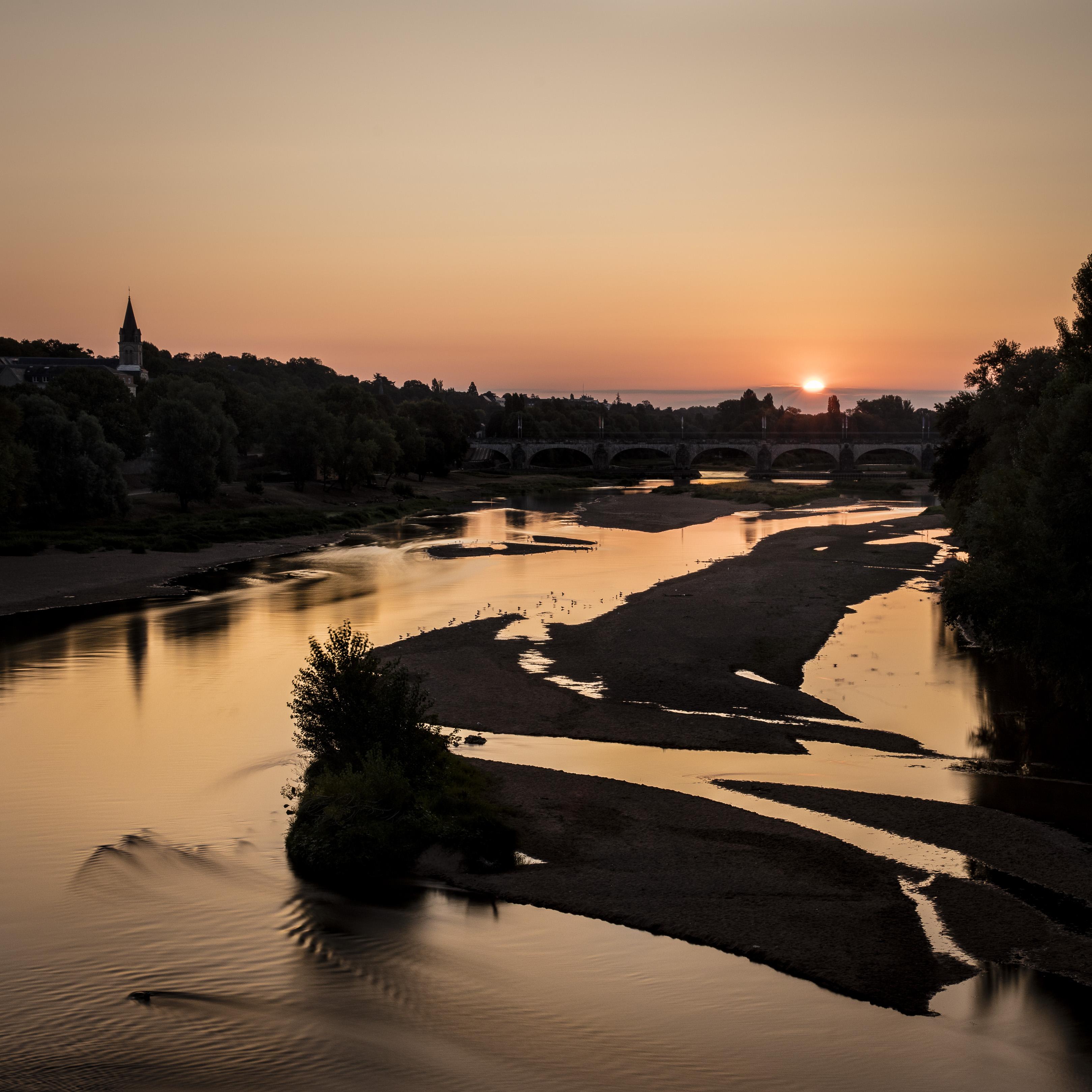 Lever du jour depuis le pont Napoléon - Septembre 2018