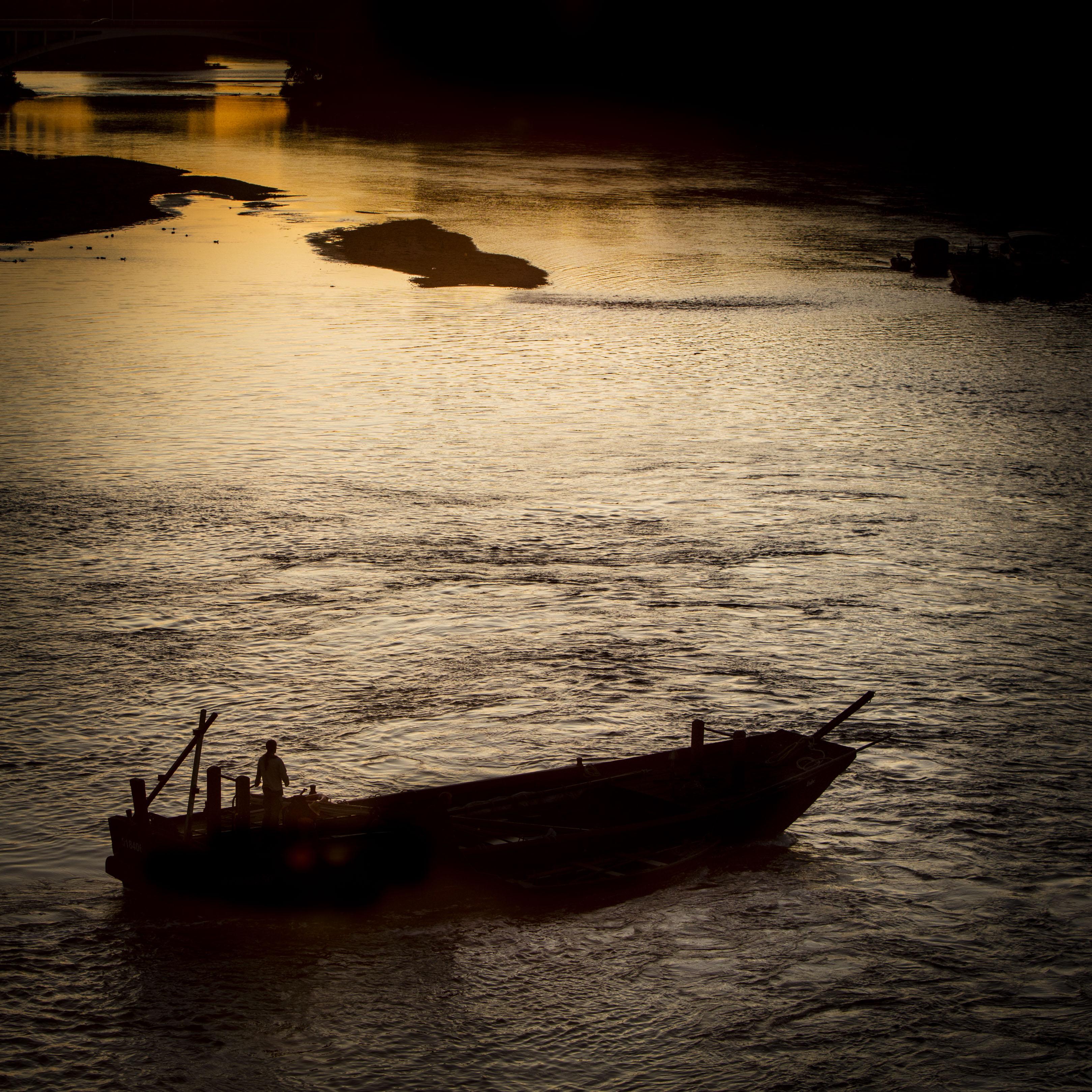 Bords de Loire, depuis le pont Wilson  #2 - Septembre 2017
