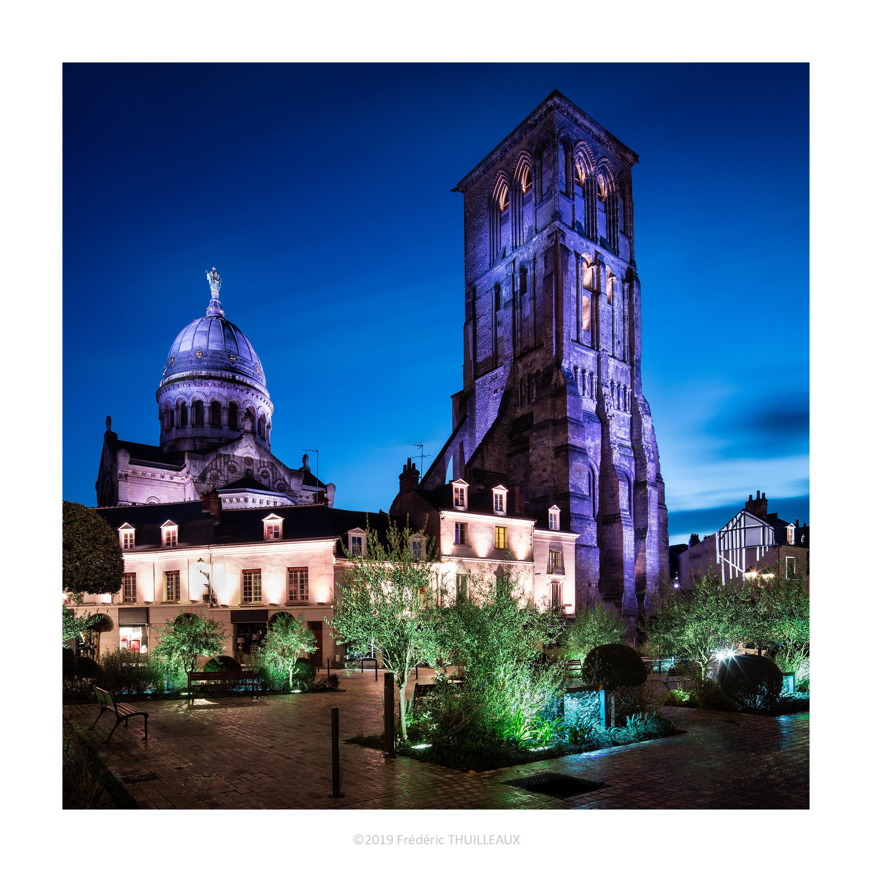 Basilique Saint-Martin et tour Charlemagne - Janvier 2019 #1