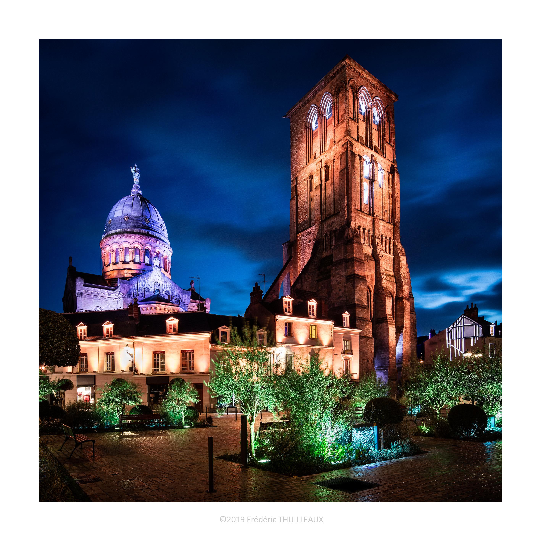 Basilique Saint-Martin et tour Charlemagne - Janvier 2019 #2