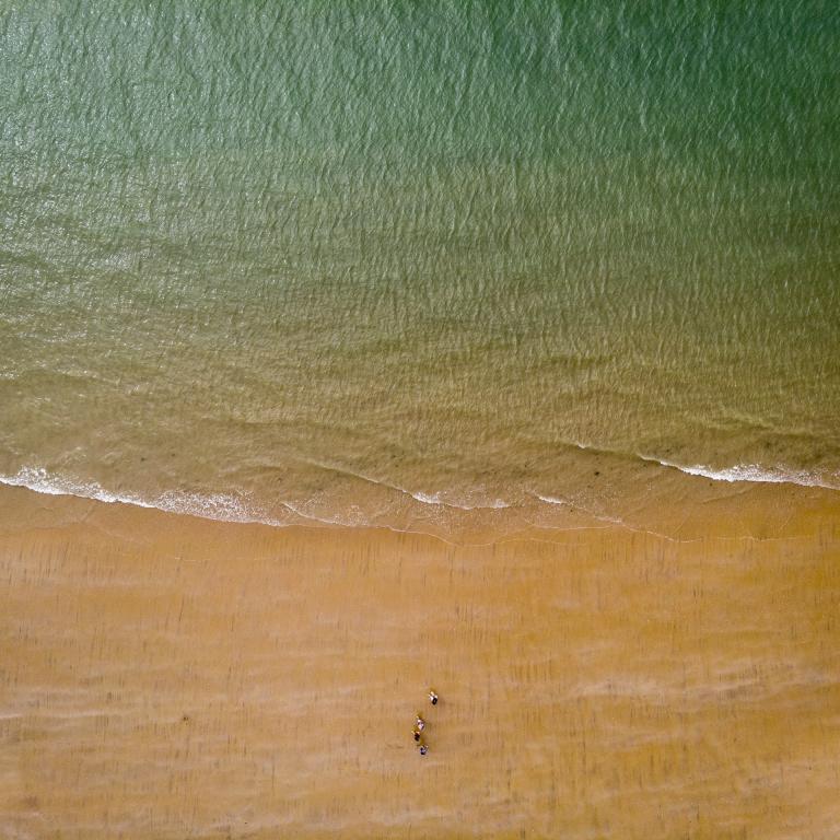 La plage (Mavic Air) - Vendée - Août 2020