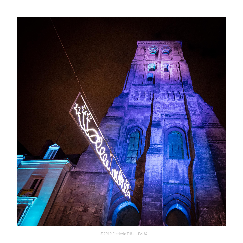 La tour Charlemagne, coté rue de Châteauneuf, Janvier 2019