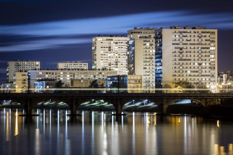 Quartier des rives du Cher - Janvier 2020